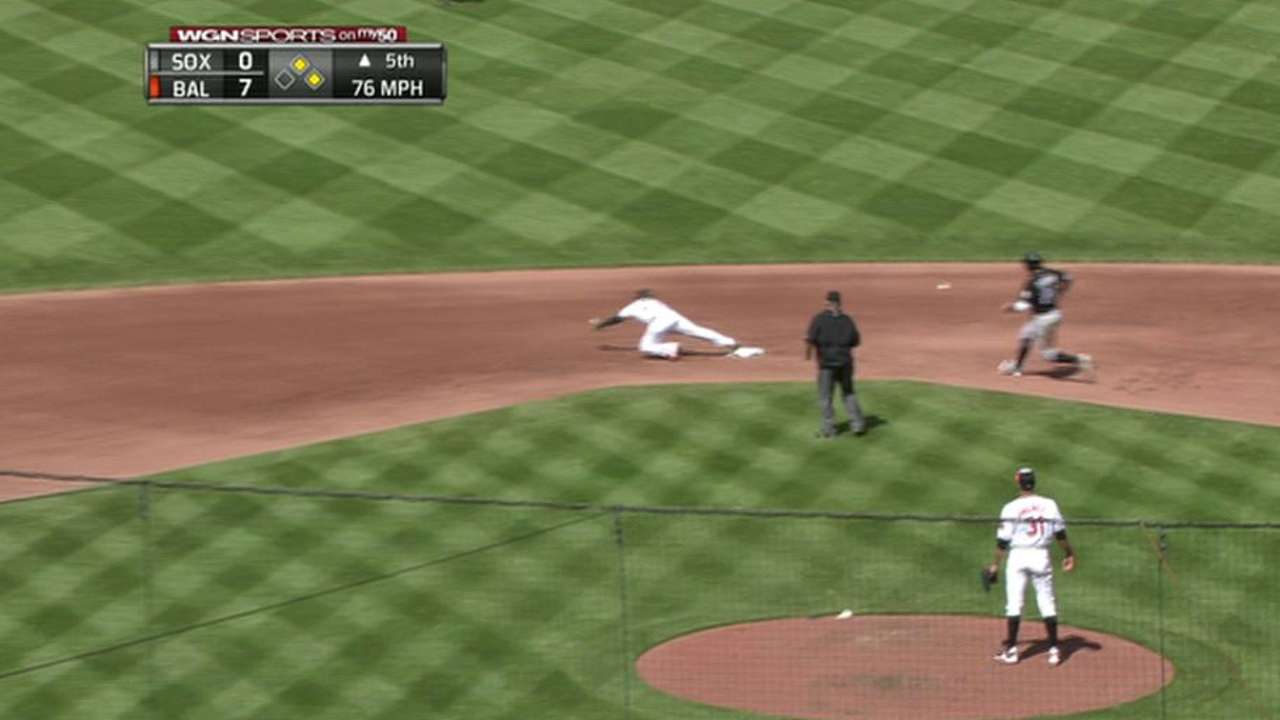 LaRoche scores on error