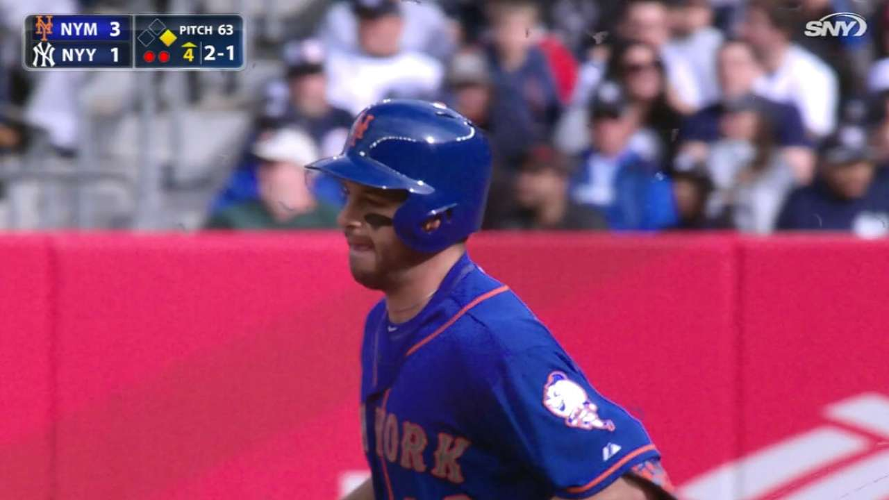 Plawecki displays advanced offensive potential