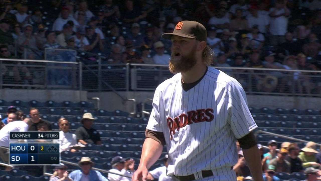 Padres need to cash in runs for Cashner