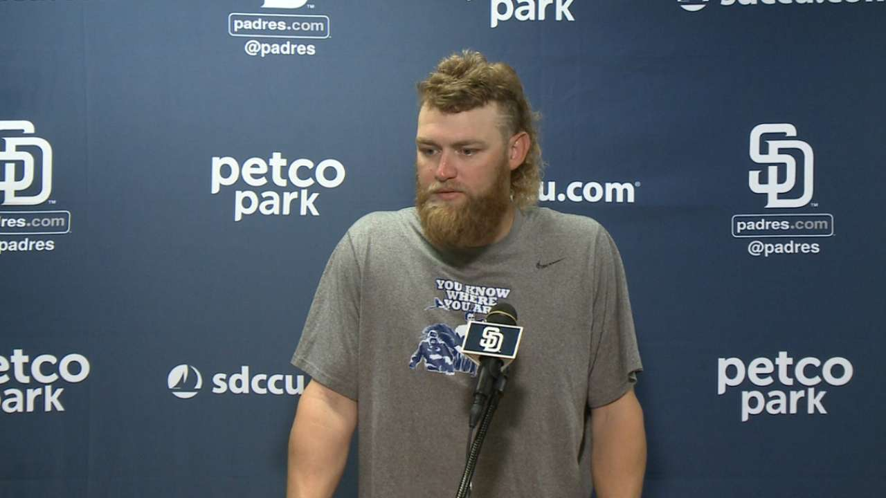Cashner on his outing in loss