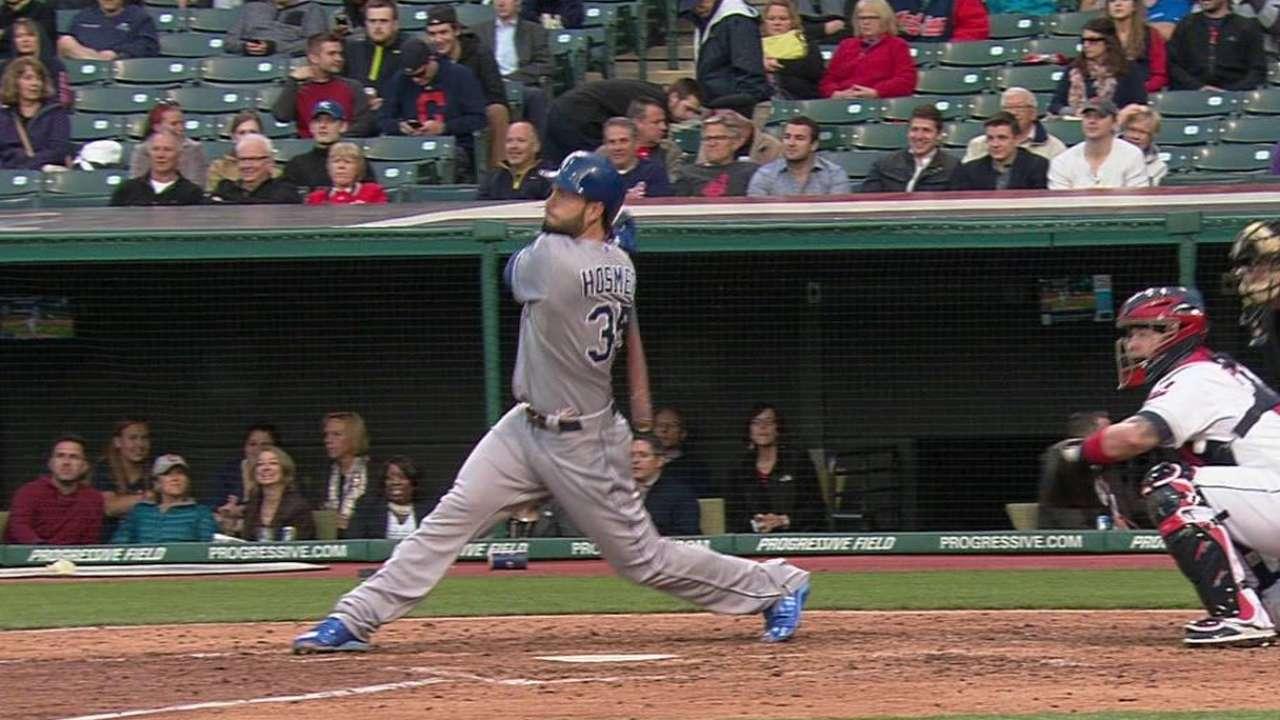 Hosmer's two-run shot