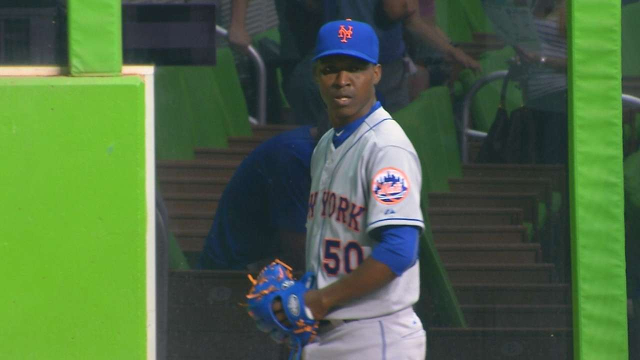 Right arm soreness keeps Montero sidelined