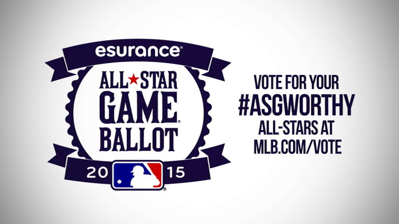 Trout closing in on top AL vote-getter for ASG
