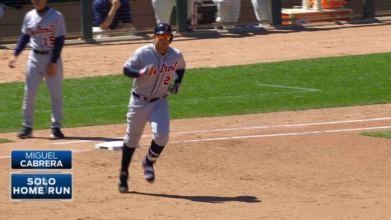 Miggy mashes monster shot to second deck at Target