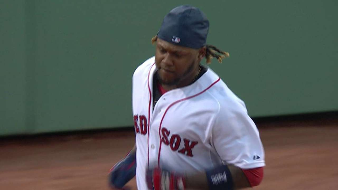 Hanley finishes monster April by joining select company