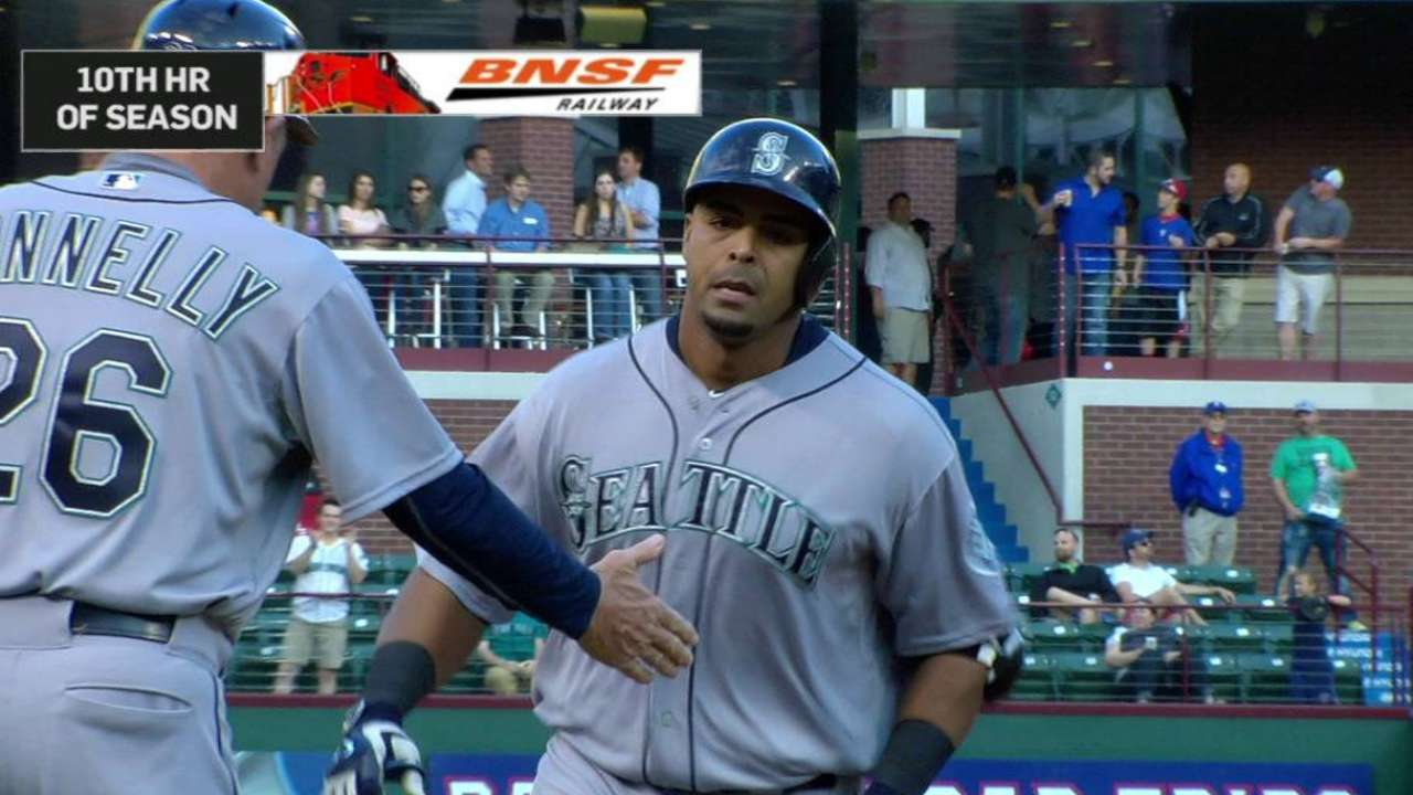 Cruz powers way to AL Player of Month honors