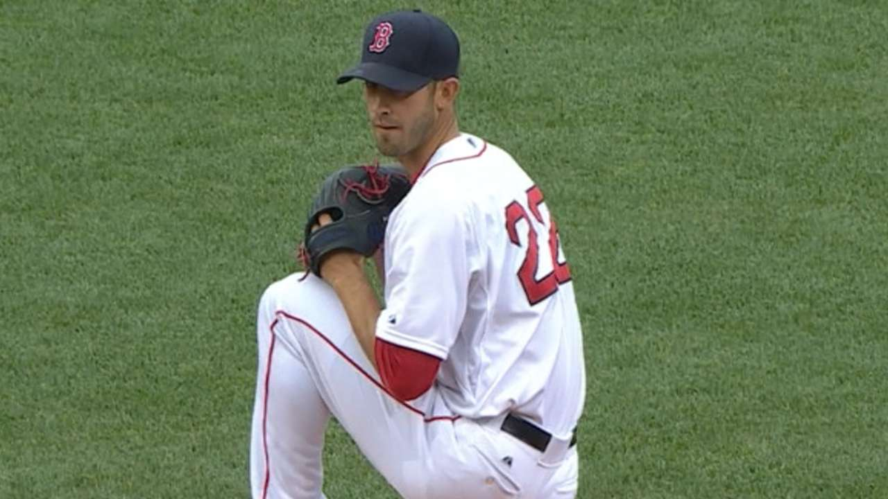 Sox hope Porcello's outing is turning point for rotation