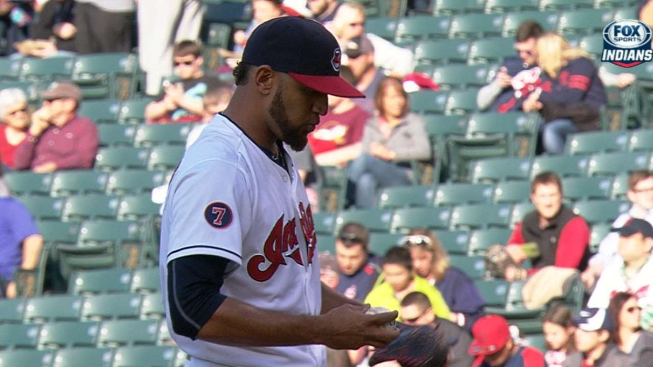 Salazar making transition from thrower to pitcher