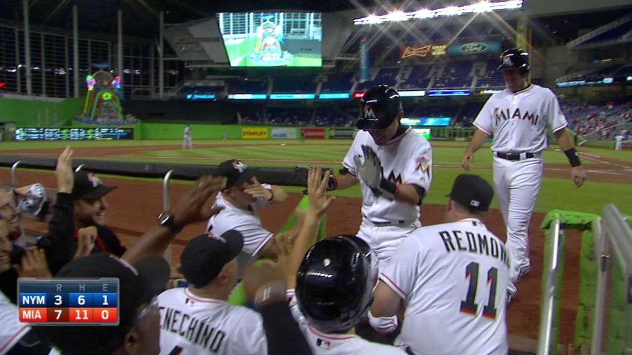 Ichiro's three-run homer