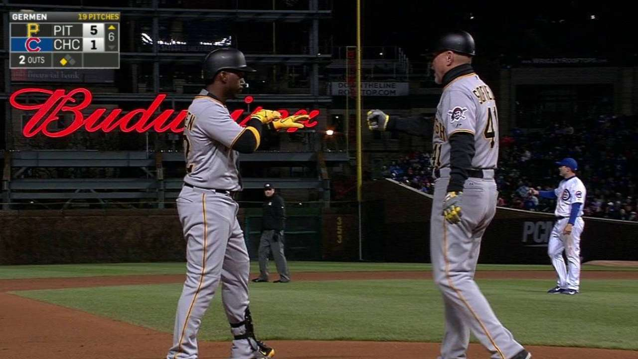 Clutch hits from Cutch, Kang carry Bucs over Cubs