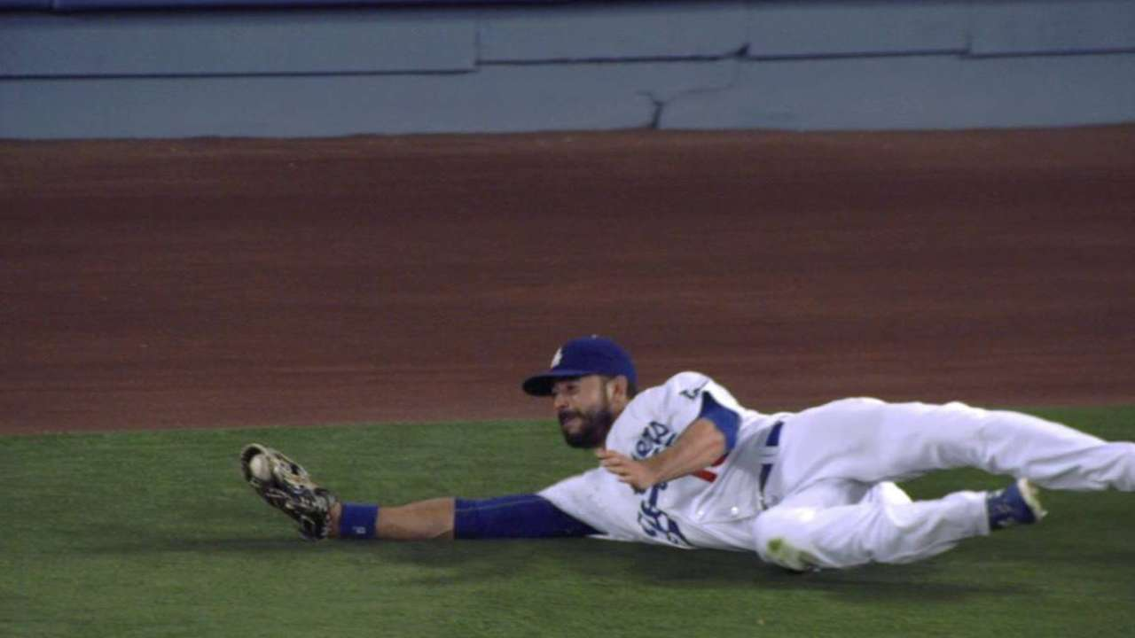 Ethier's great diving grab