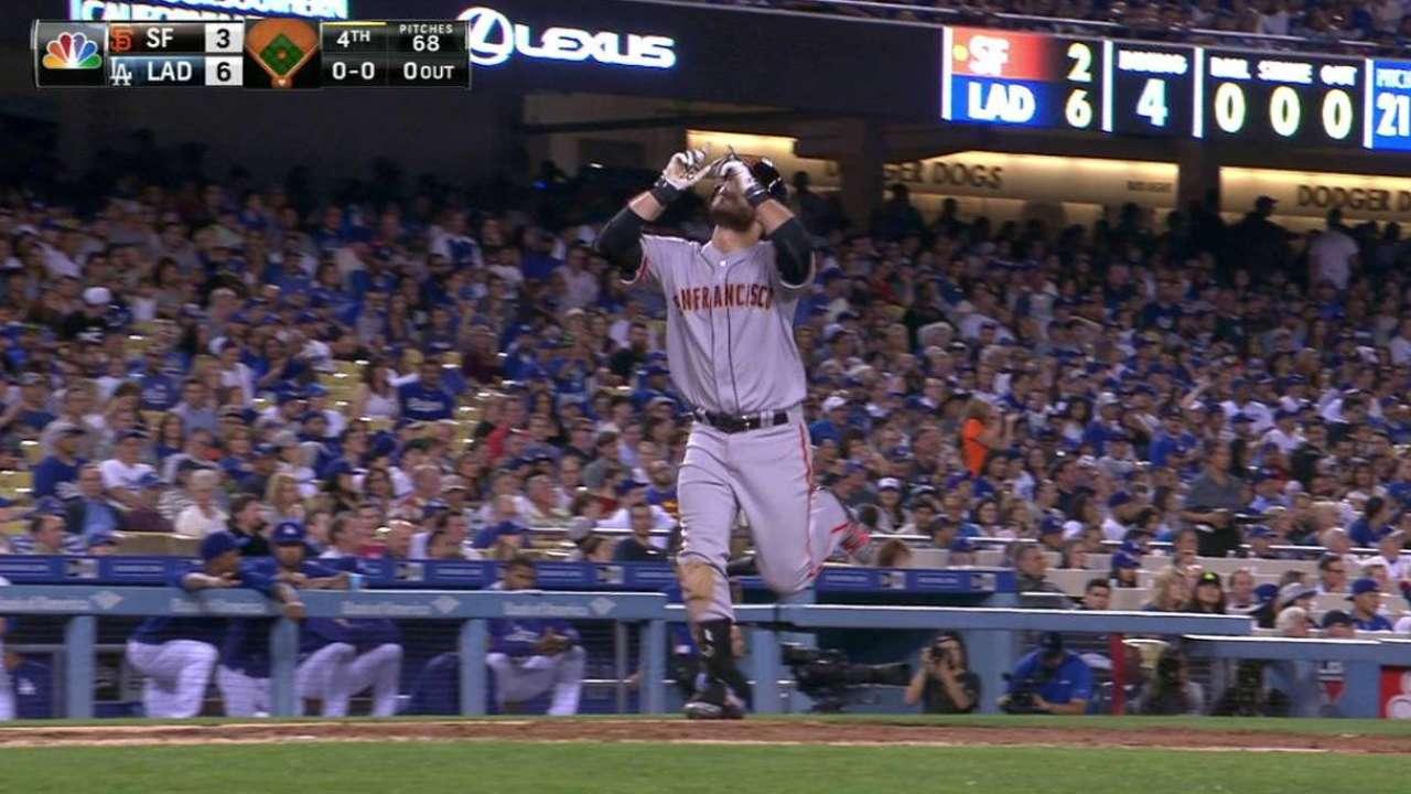 Crawford's two-run homer