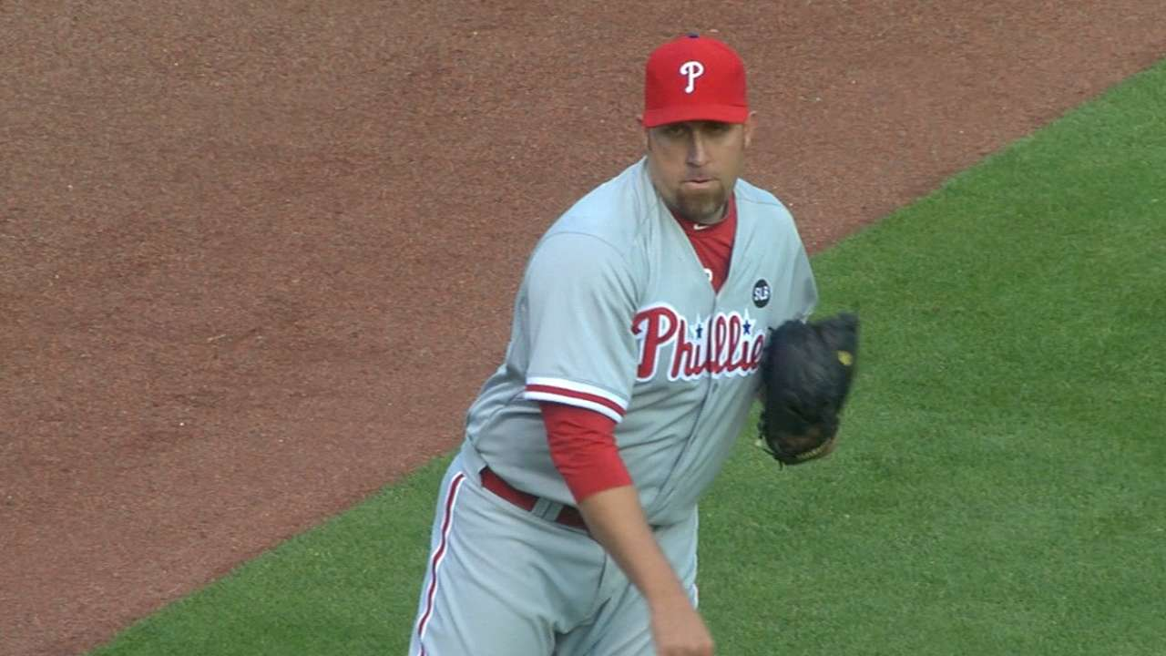 Harang's strong April ends on sour note