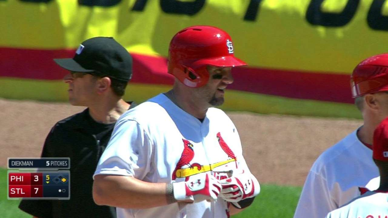 Mattitude: Trio drives Cardinals past Phillies