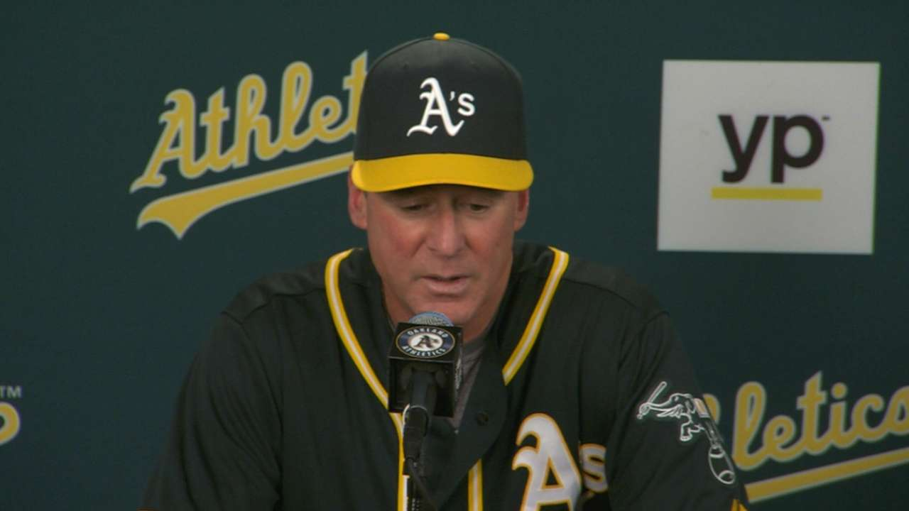 A's ready to leave April behind them
