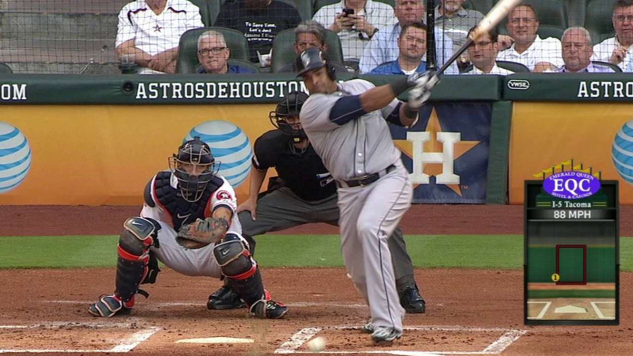 Smith crosses the plate