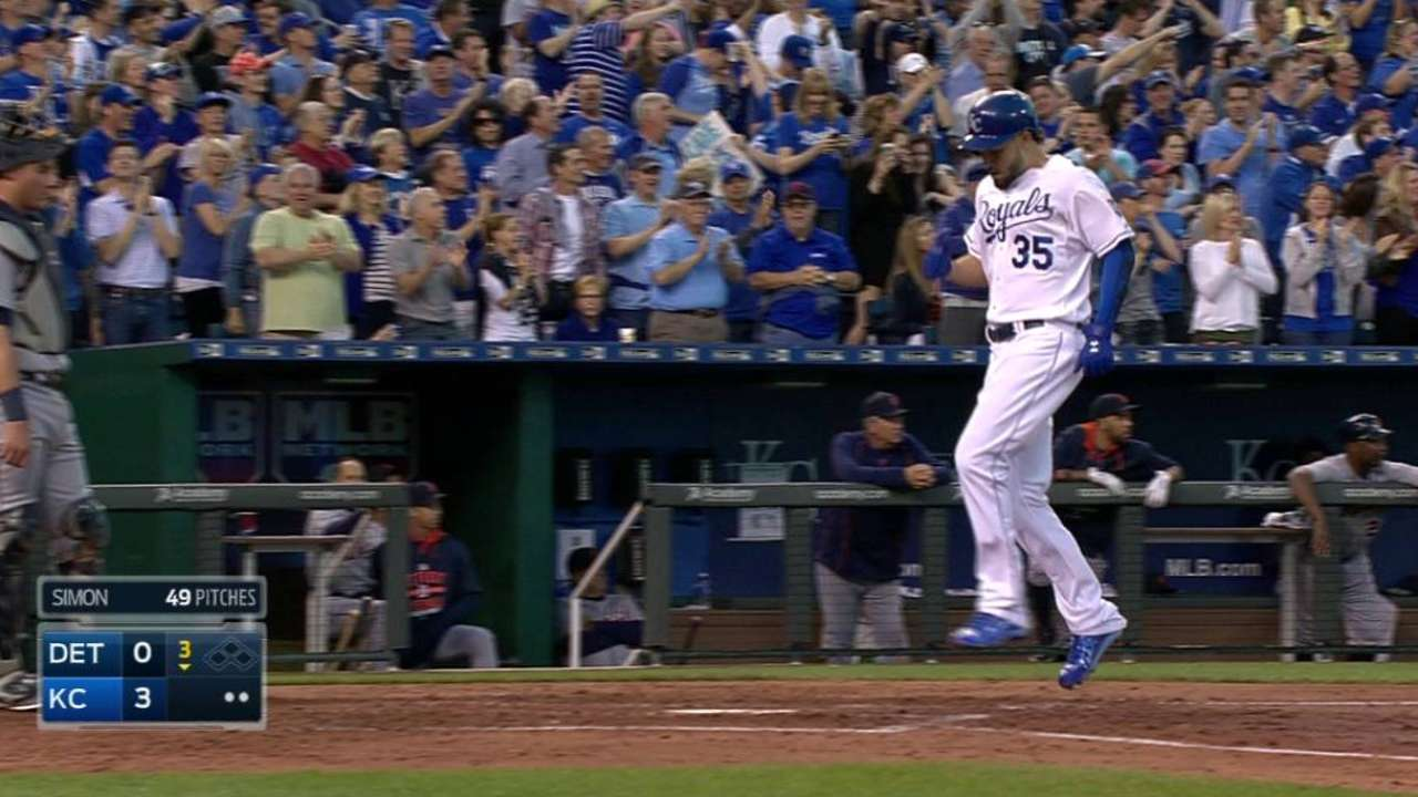 Hosmer's two-run blast