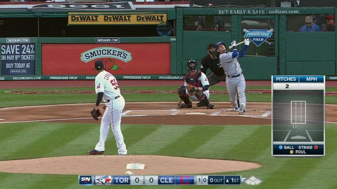Donaldson looks like a natural in leadoff spot