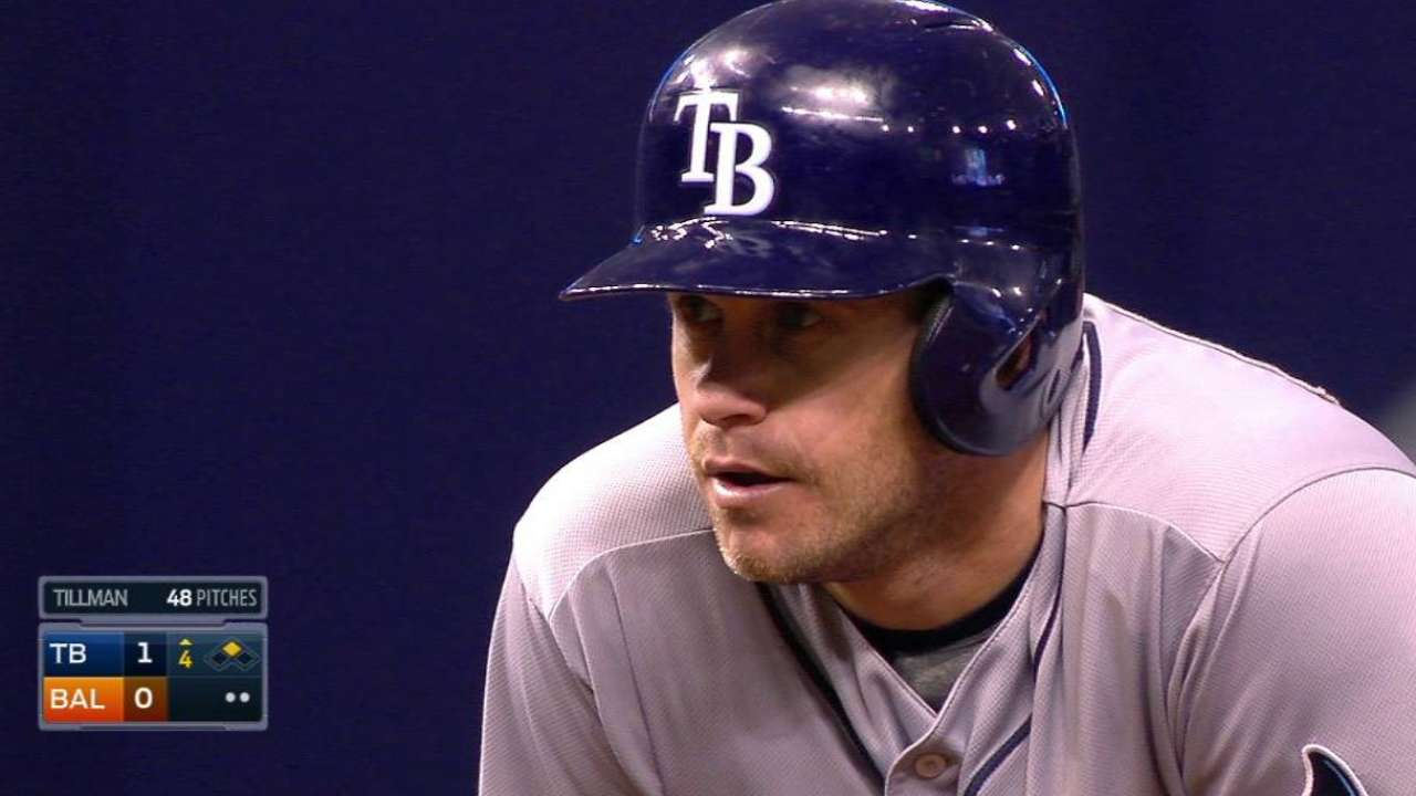 Rays blank O's in 'away' game at the Trop