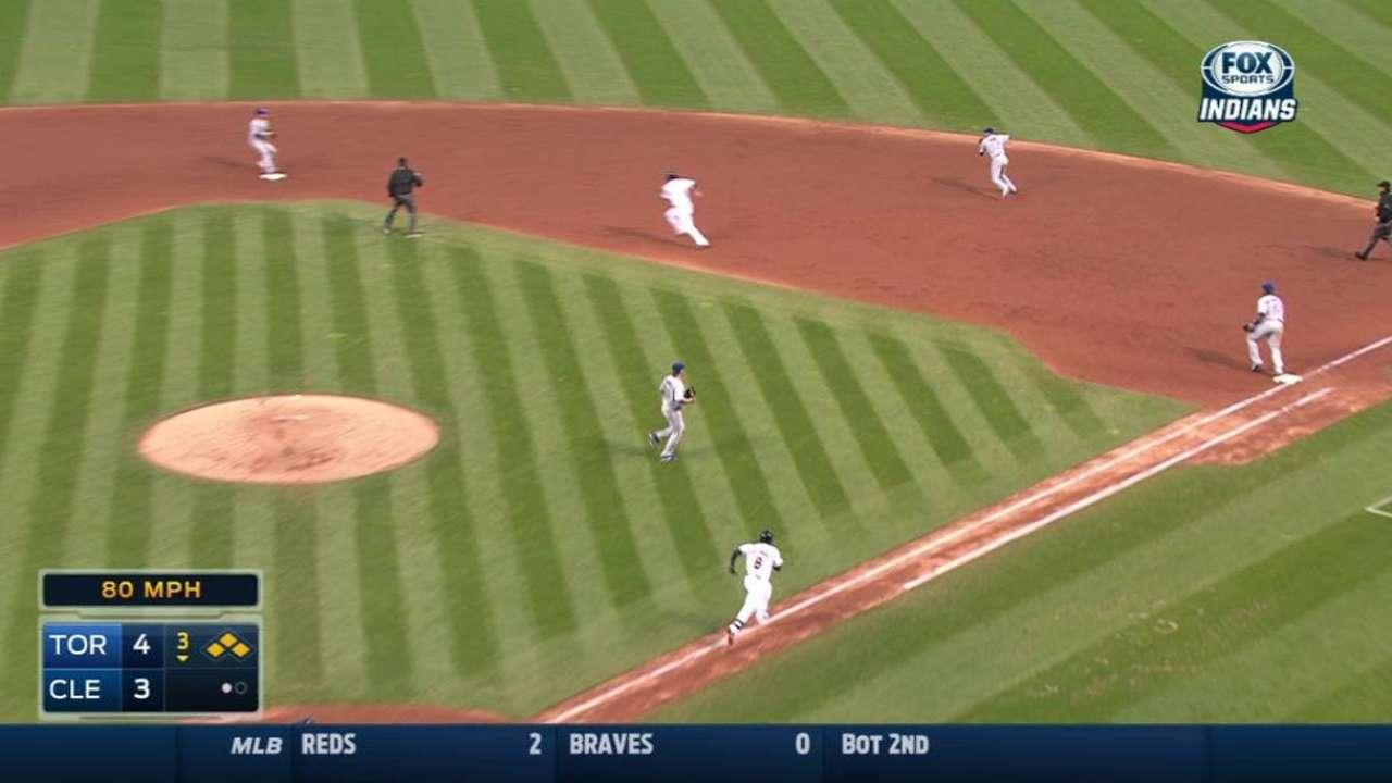Chisenhall's game-tying RBI