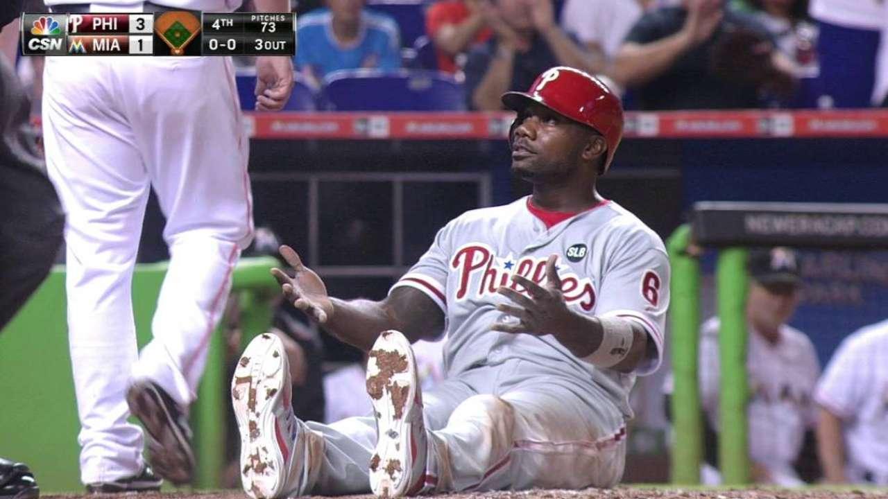 Phillies lose challenge