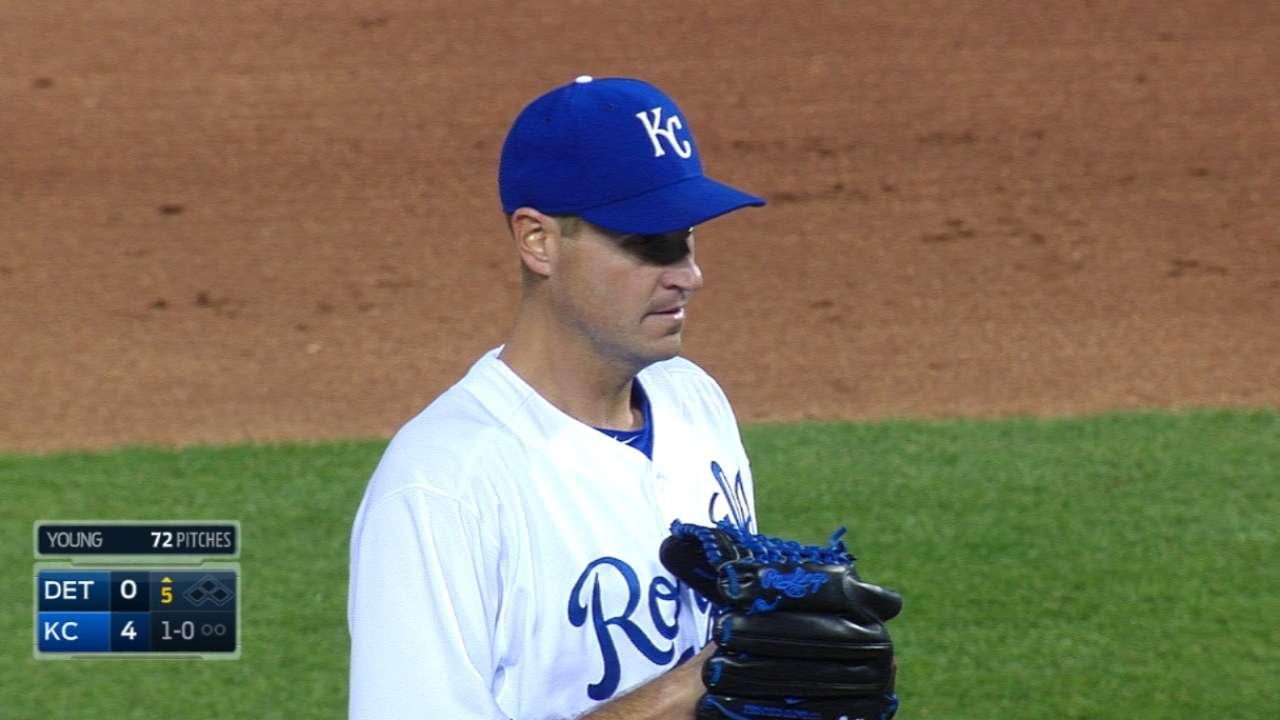 Young simply 'spot' on in KC rotation debut