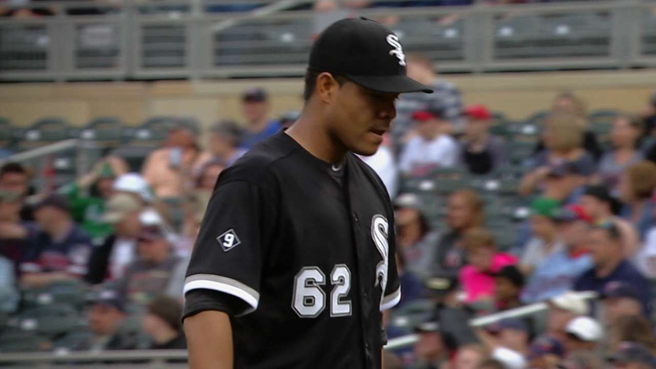 Quintana's seven-inning outing