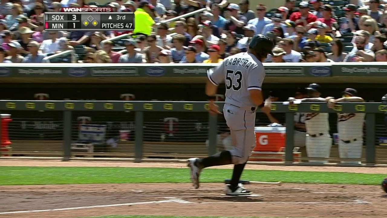 White Sox skid at 4 after Noesi struggles