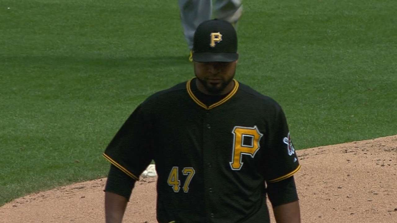 Liriano not concerned about personal record