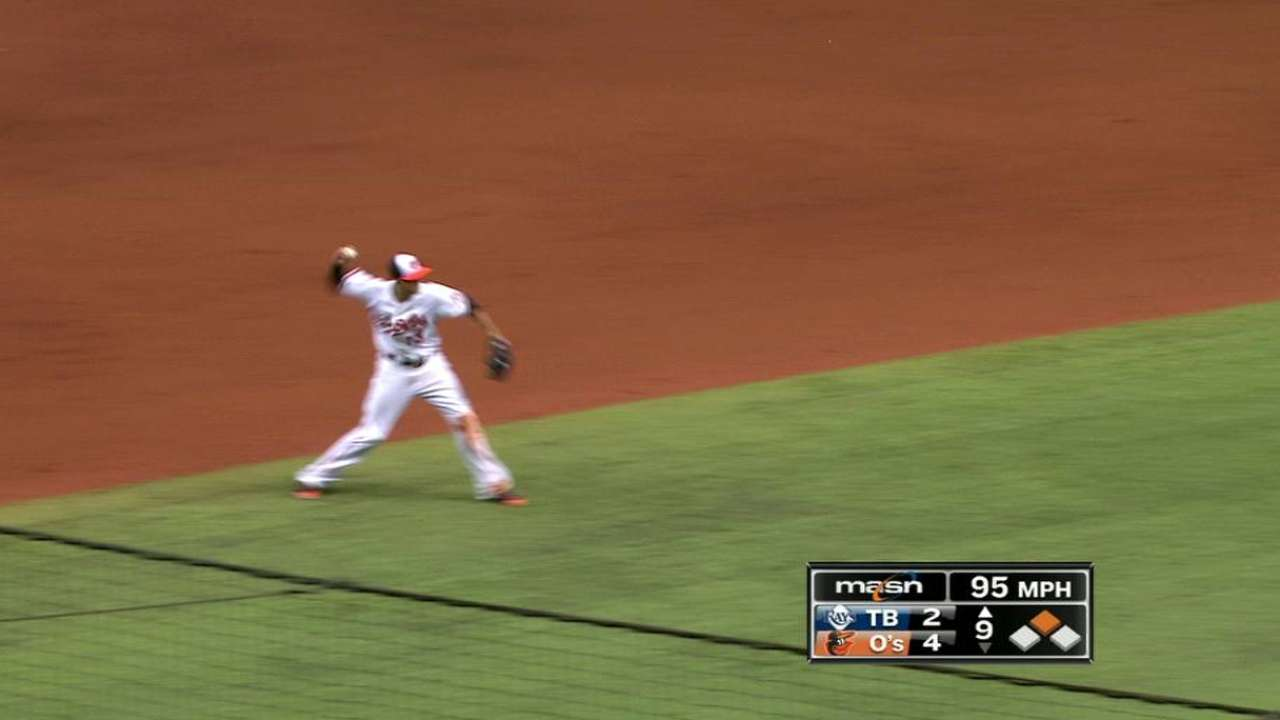 As 'home' series ends, O's think of Baltimore