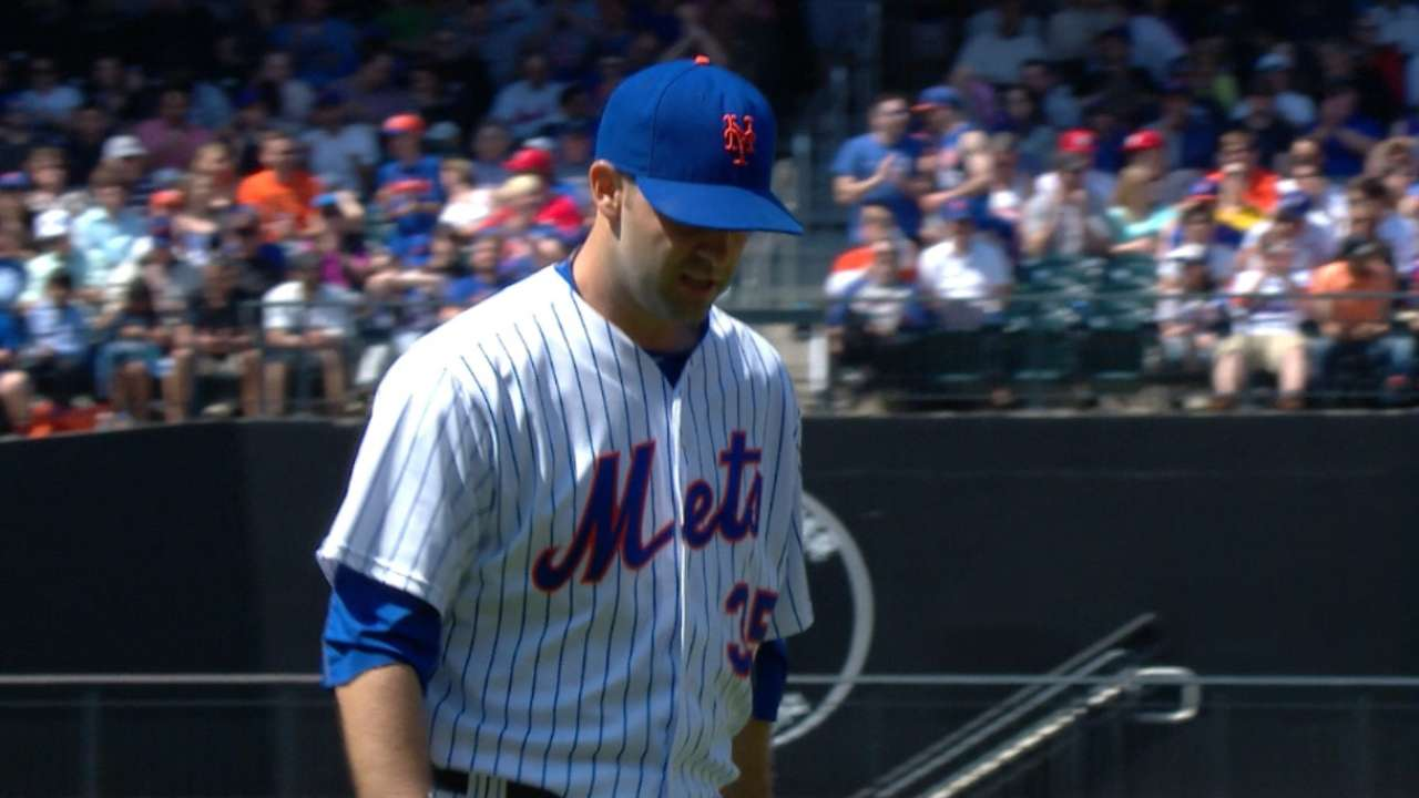 Mets move to 5-man staff, shift Gee to 'pen