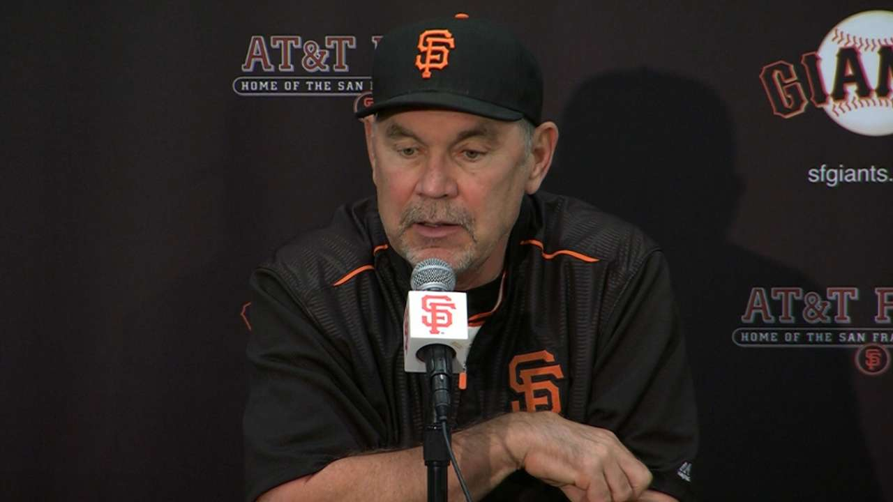 Bochy on Lincecum's start