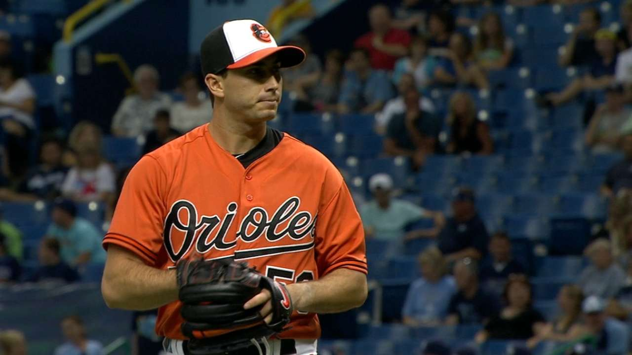 Gonzalez pitches 7 2/3 stellar innings in O's win