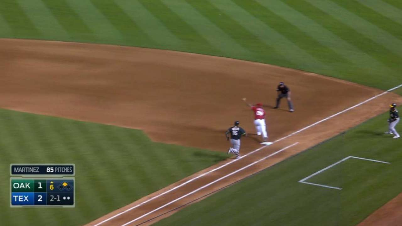 Beltre's charging play