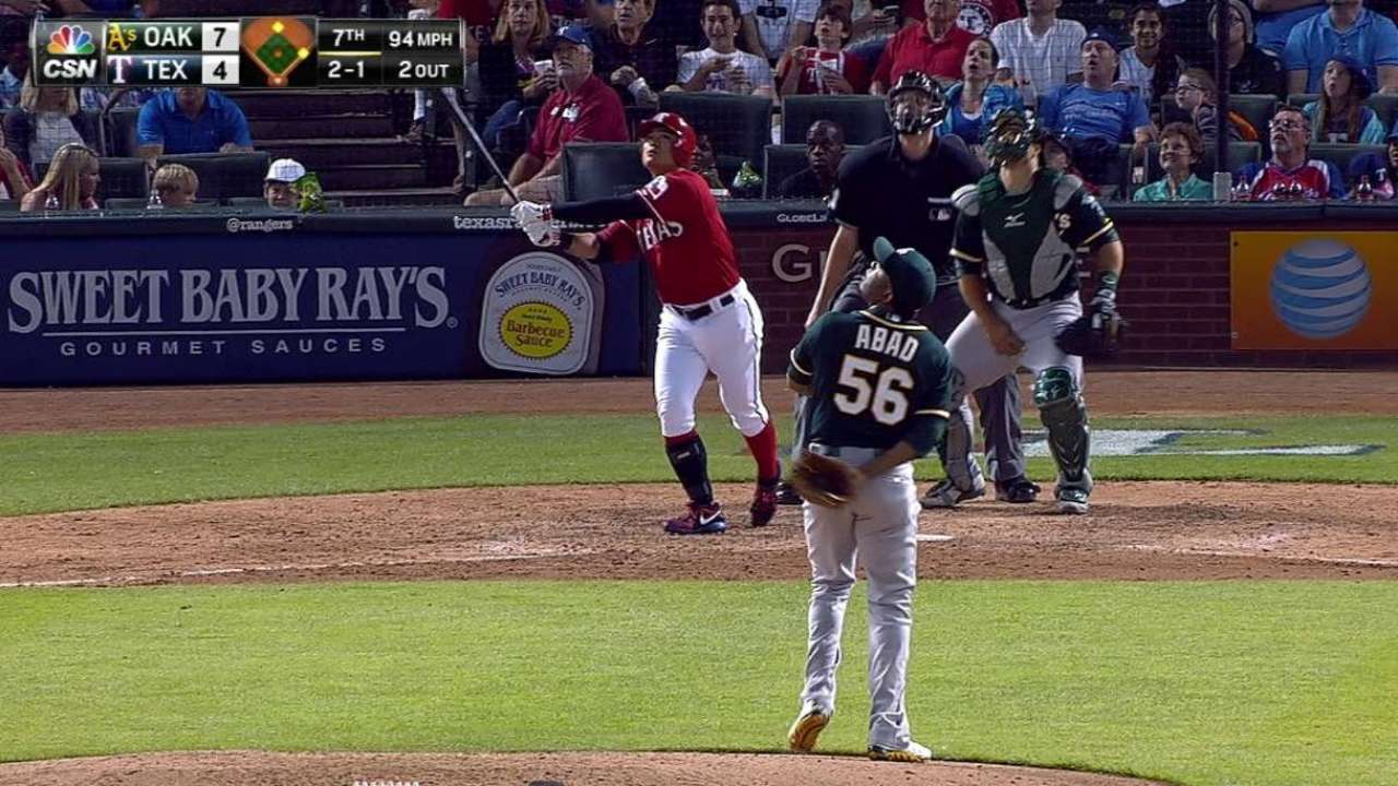Choo's three-run shot