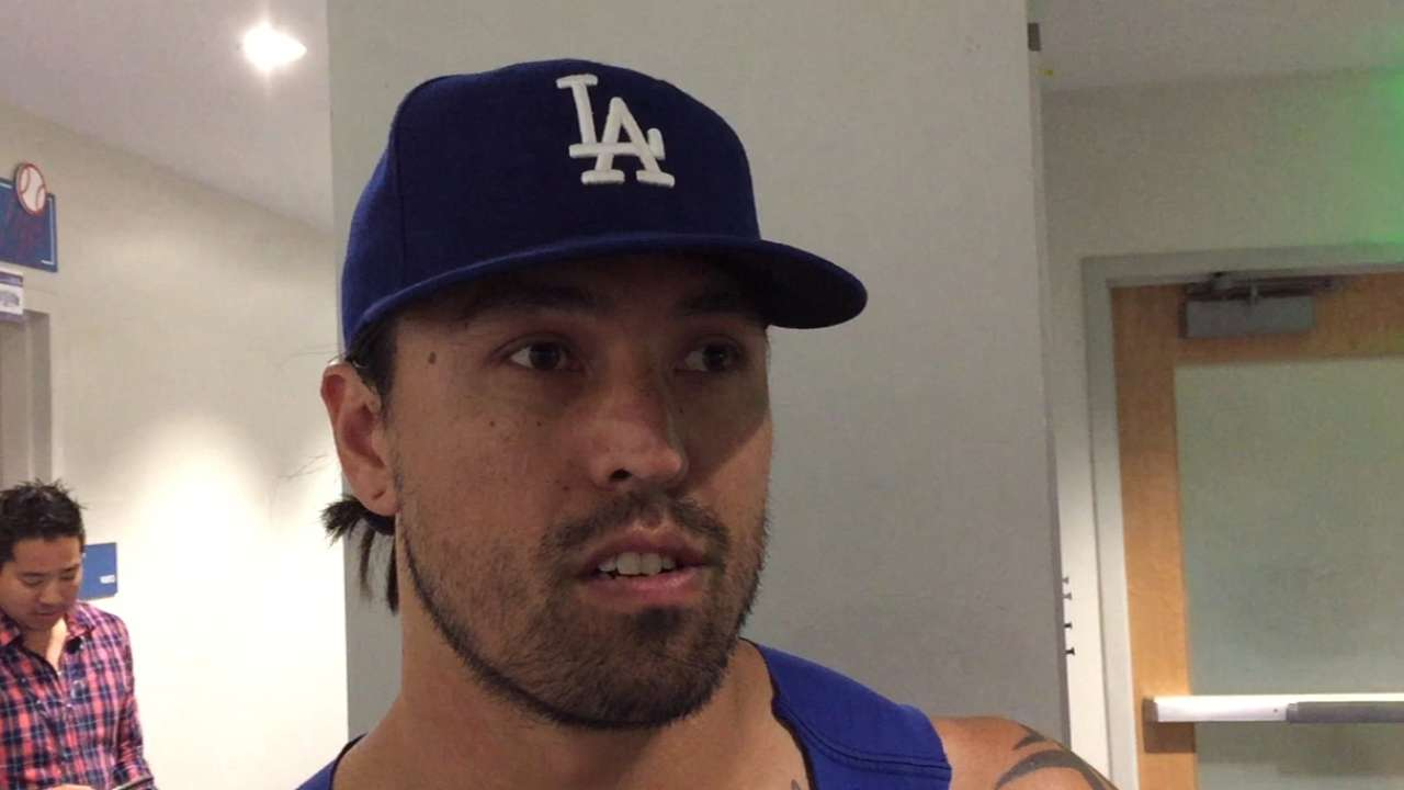 Dodgers' League nearing end of rehab stint