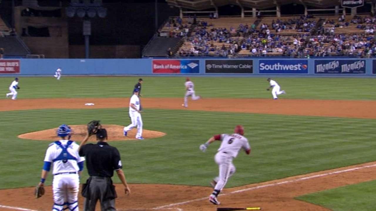 Must C: Dodgers get lucky assist