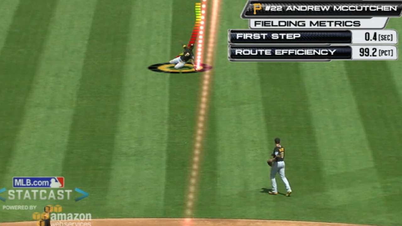 Shades of great: Statcast compares 2 diving grabs