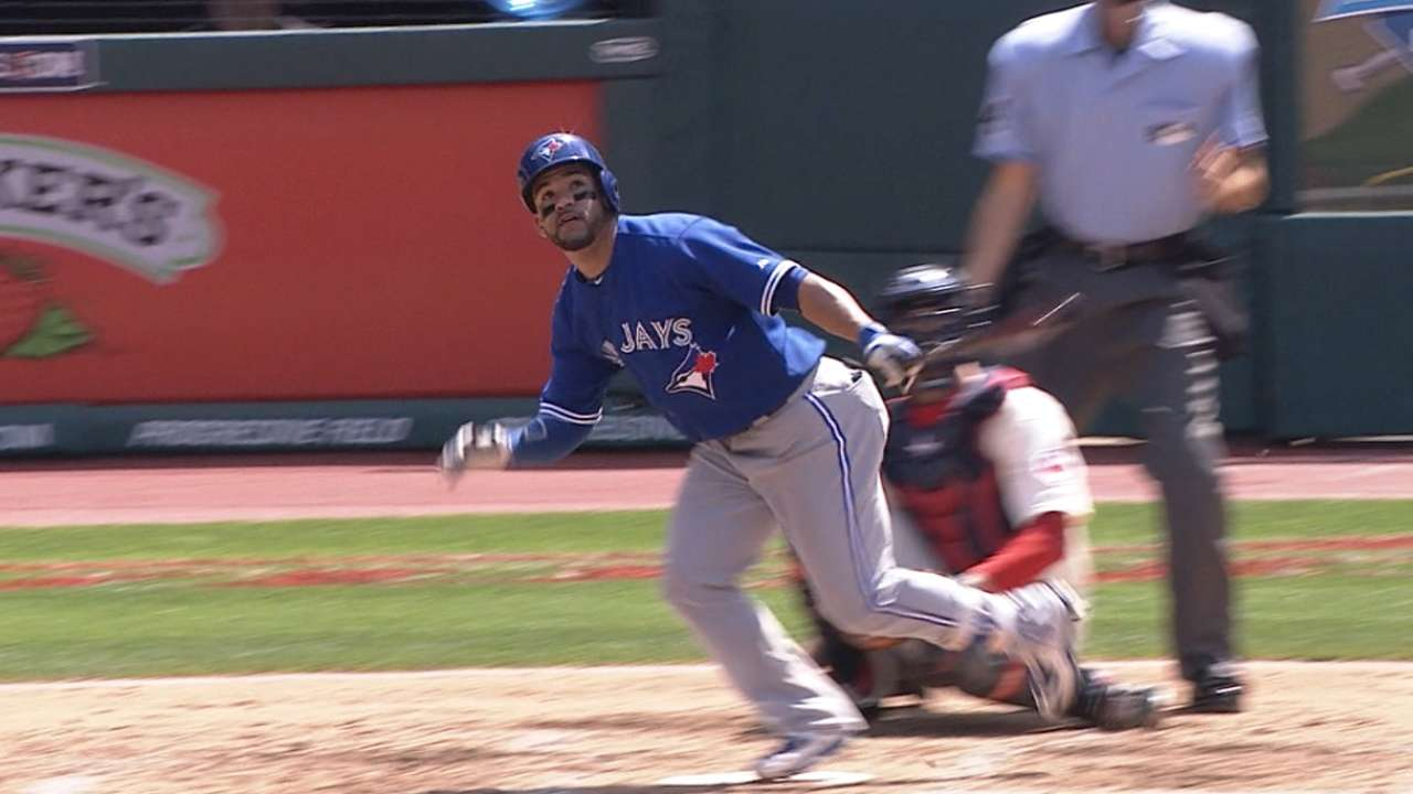 Blue Jays' six-run frame