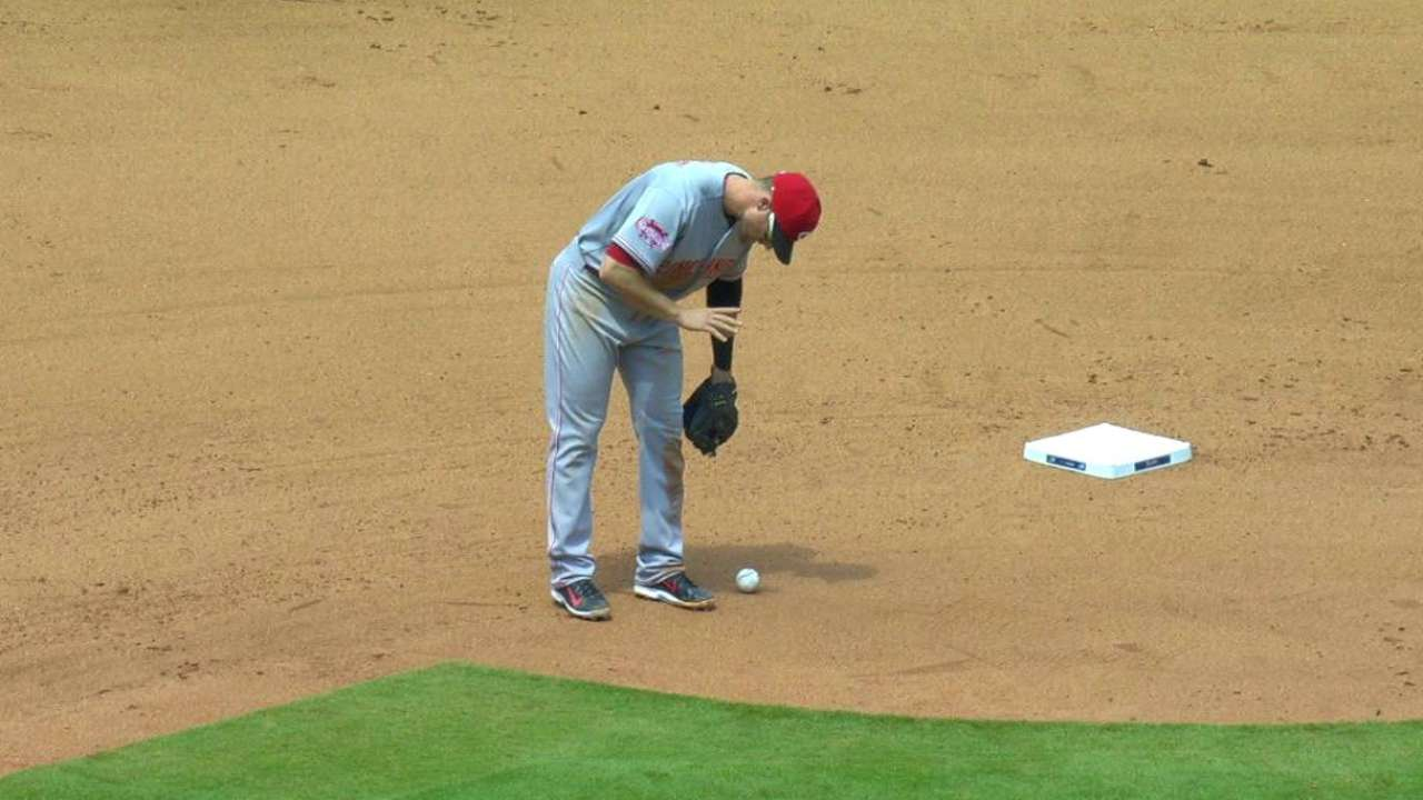 Cozart exits early
