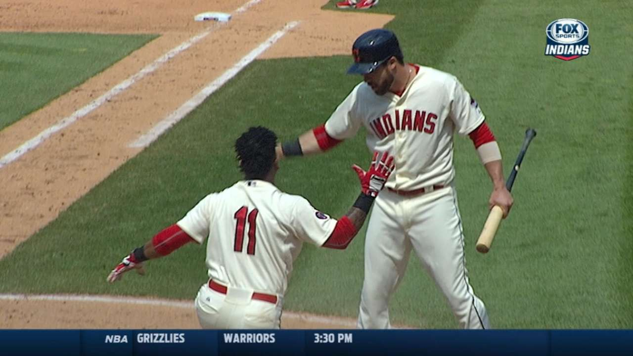 Indians hope big inning serves as turning point