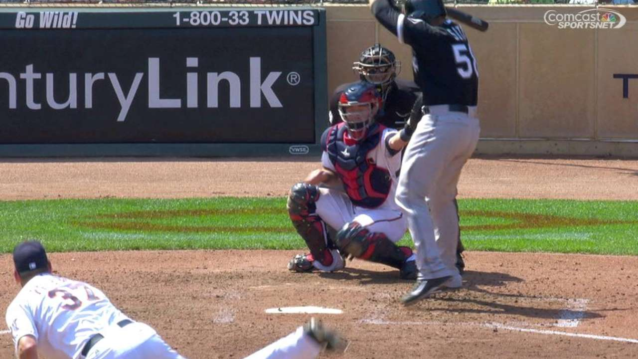 Soto hit by pitch to earn RBI