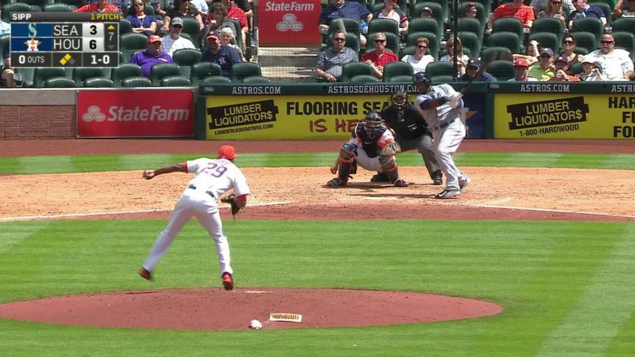 Weeks' two-run double
