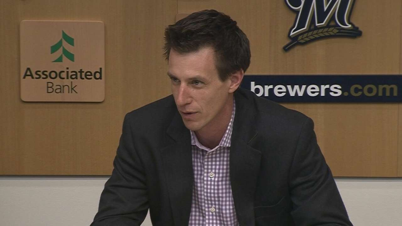 Counsell is Brewers' choice for manager