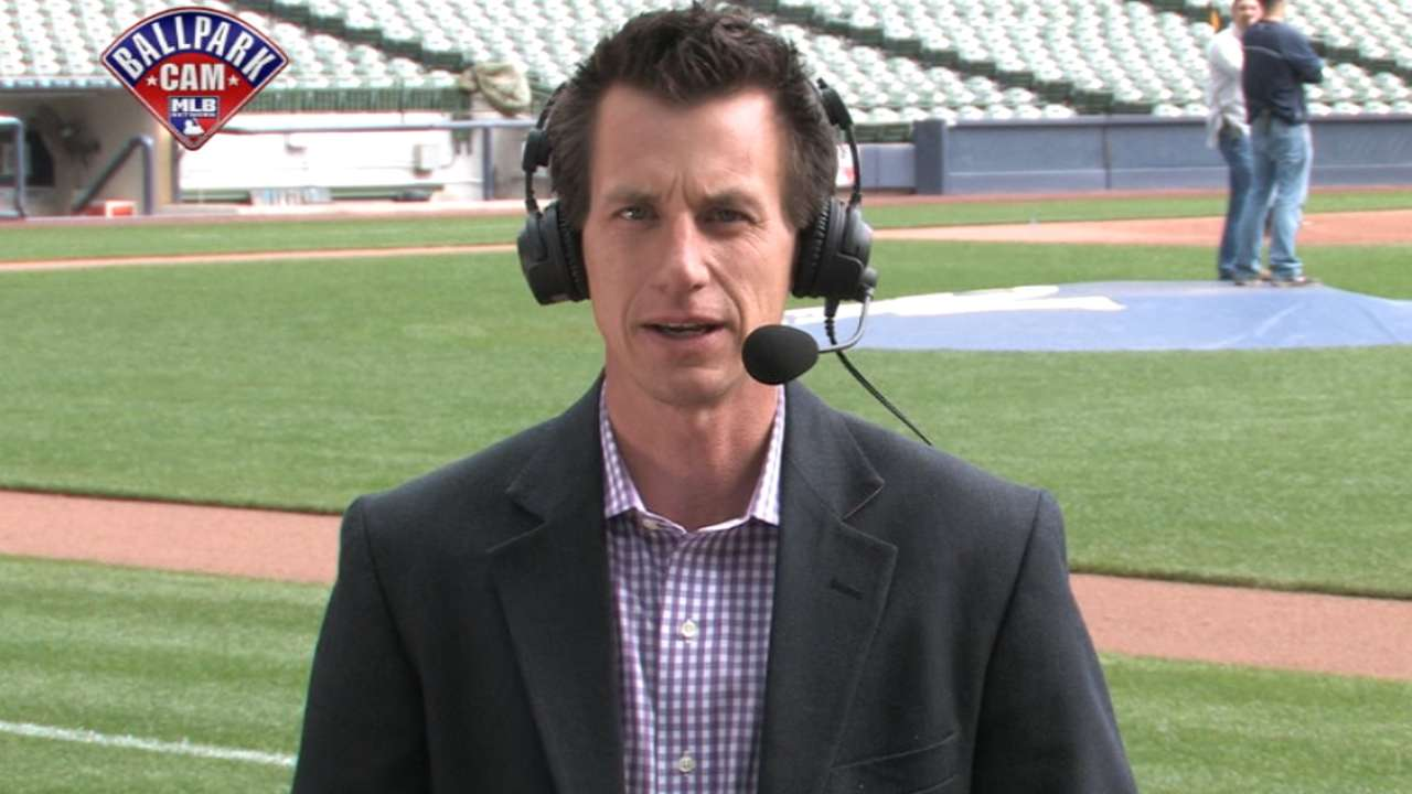 Counsell talks with MLB Central