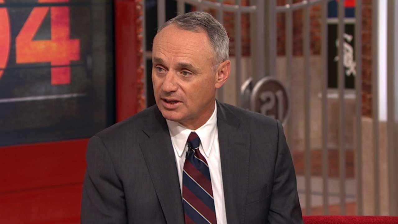 After 100 days, Manfred is just getting started