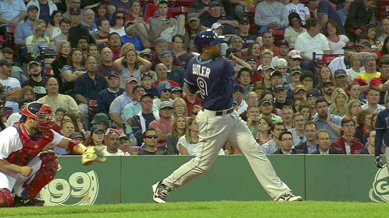 Butler's two-run shot