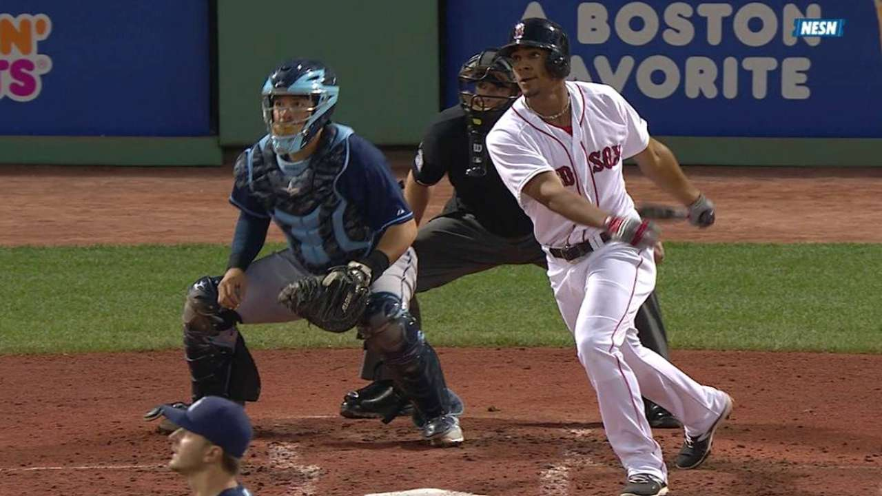 Bogaerts' RBI triple