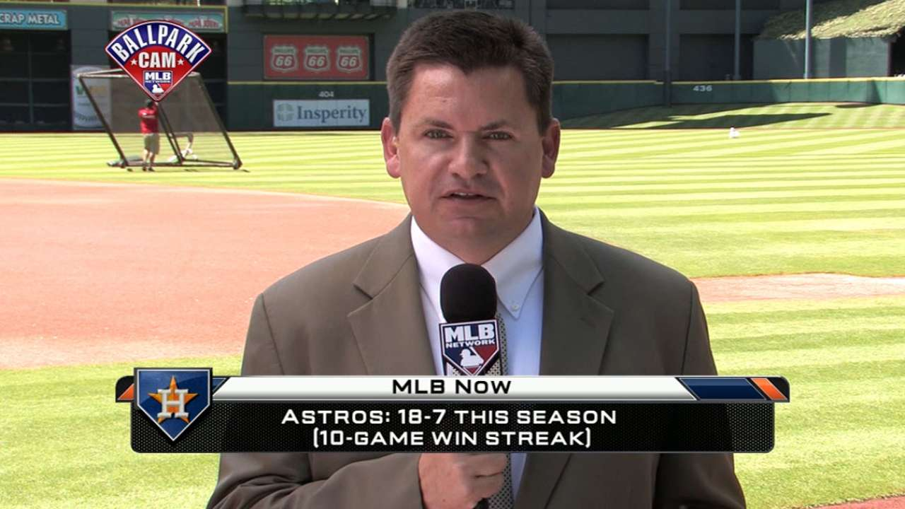 MLB Now: Brian McTaggart