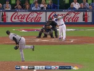NYY@TOR: Encarnacion hits a game-tying RBI double